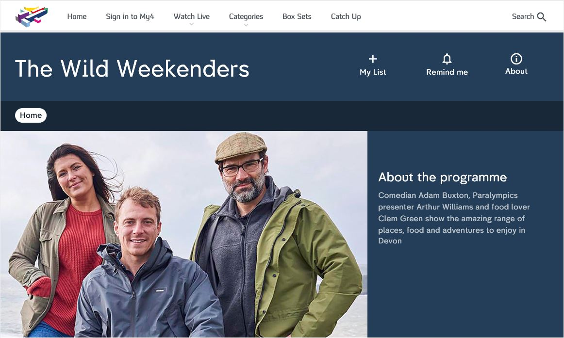 THE WILD WEEKENDERS - Adam Buxton, Arthur Williams and Clem Green